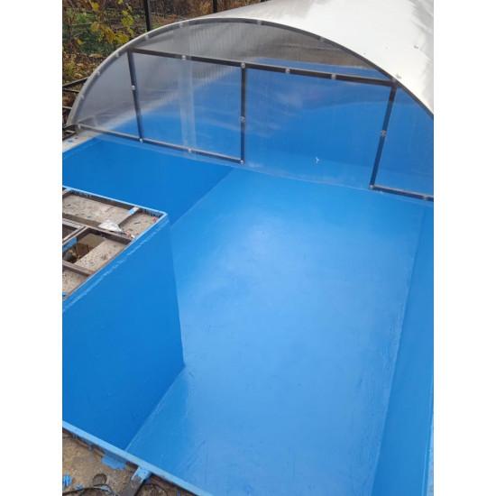 Гидроизоляции бассейнов, резервуаров, фонтанов Elastomeric Pool (ведро 3кг)