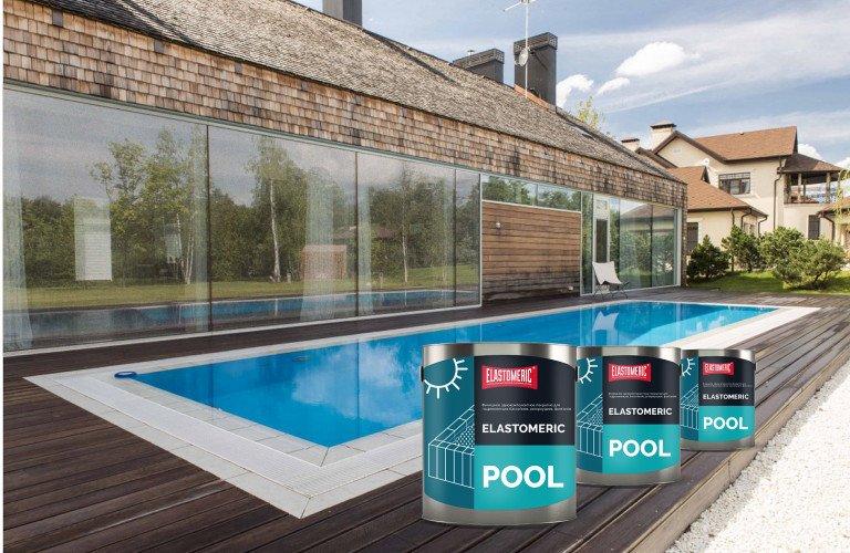 Elastomeric Pool - однокомпонентное покрытие для бассейнов, резервуаров, водоемов