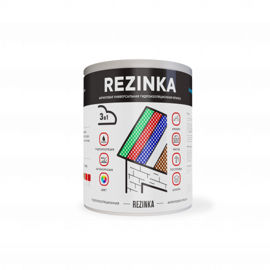 Резиновая краска - REZINKA