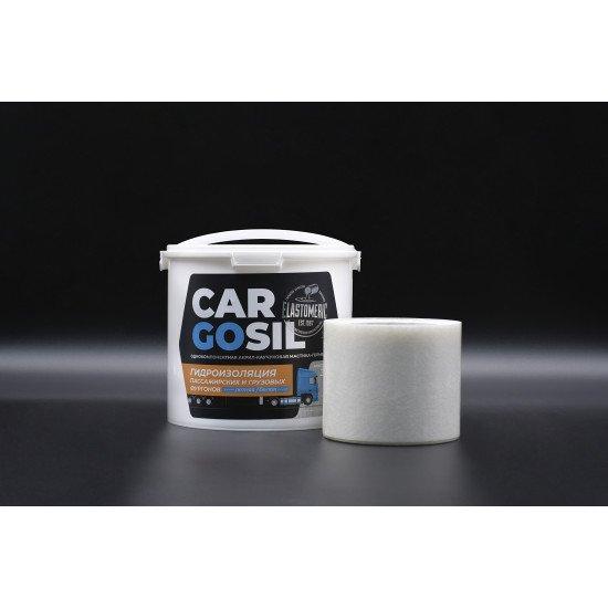 Cargosil S - летняя жидкая резина для устранения протечек на крышах фургонов и будок 3 кг