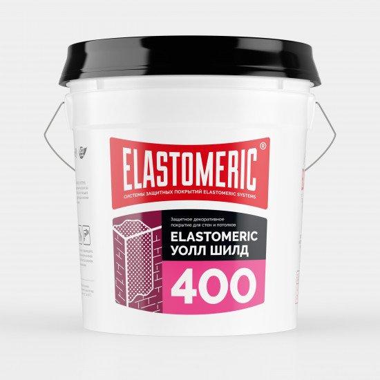 Универсальная эластичная защитная краска ELASTOMERIC - 400 Wall Shield ведро 20 кг